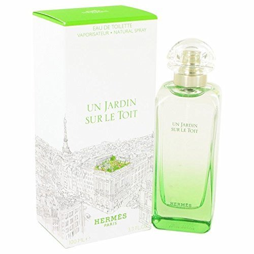 (Un Jardin Sur Le Toit by Hermes Eau De Toilette Spray 3.3 oz for)