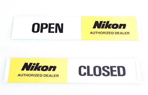 Price comparison product image NIKON OPEN / CLOSED SIGN