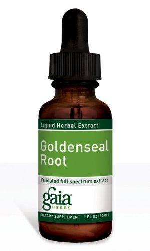 Goldenseal Root Extract Gaia Herbs 1 oz Liquid
