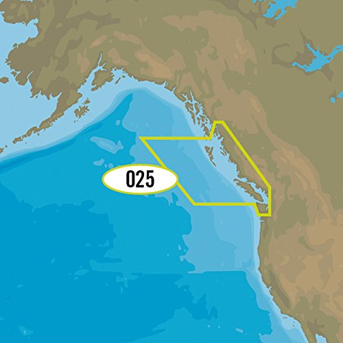 Including Maps - C-MAP 4D Na-D025 Canada West Including Puget Sound - NA-D025