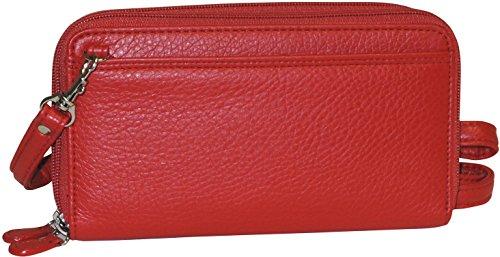 Buxton Ultimate RFID Organizer Crossbody Handbag One Size - Organizer Bags Buxton