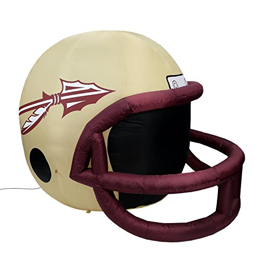 NCAA Florida State Seminoles Team Inflatable Lawn Helmet, Gold, One Size -