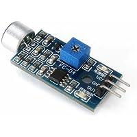 Ecloud Shop® Módulo Sensor de Sonido del vehículo Inteligente es Compatible con Arduino