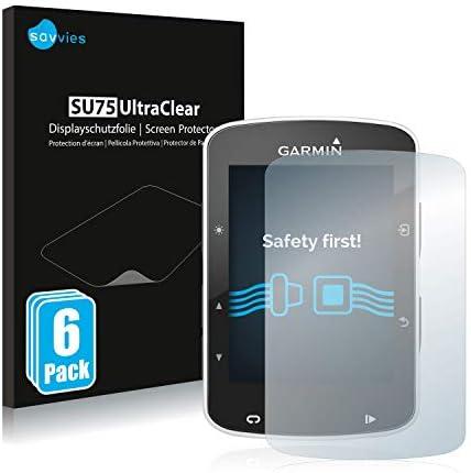 savvies Protector Pantalla Compatible con Garmin Edge 820 (6 Unidades) Pelicula Ultra Transparente: Amazon.es: Electrónica