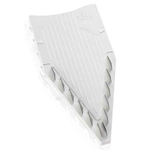 Borner V5 Plus Set straight from the manufacturer. Includes V5 Powerline Slicer,slicer Insert, 3,5mm and 7mm Blade Inserts,food Safety Holder,storage Box and Borner Combi-peeler (white)