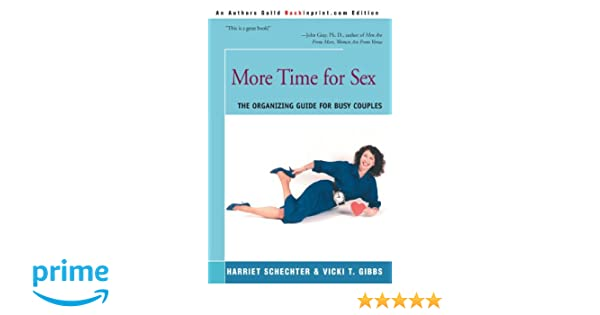 Busy couple guide more organizing sex time