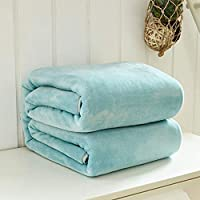 BEESCLOVER 2017 Solid Color Bed Blanket Coral Fleece Blankets for Bed Throw Blanket Twin Full Queen King Size Machine Washable