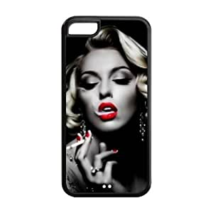 Marilyn Monroe Iphone 5c Silicone Case Back Case for Iphone 5c by icecream design