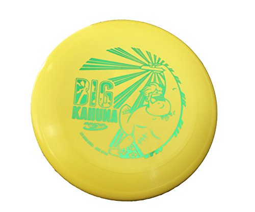 Innova Big Kahuna 200 Gram Heavyweight Ultimate Throw and Catch Disc-Dude Yellow/Green by Innova