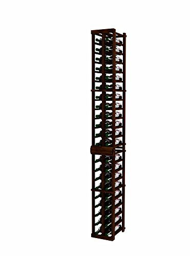 Cheap Vintner Series Wine Rack – 2 Column – 7 Ft – Premium Redwood Dark Walnut Stain
