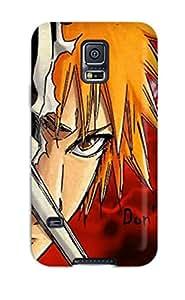 Sanp On Case Cover Protector For Galaxy S5 (ichigo Renji Byakuya Bleach Anime)