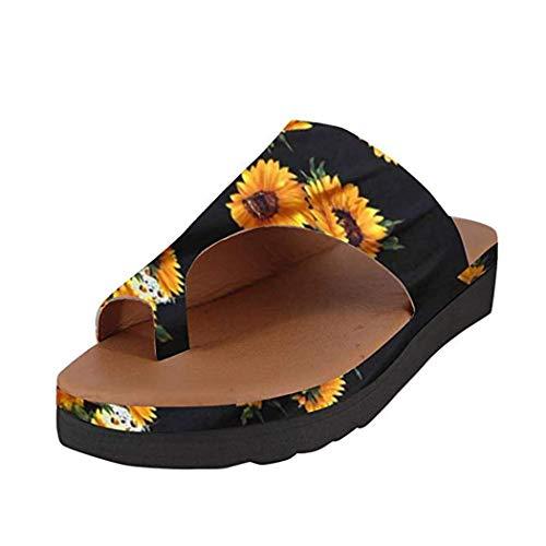 Beach Corrector de juanetes Sandalias correctoras Corrección Sandalias Cómodos Zapatos Ortopedicos Punta Abierta Zapatos de Viaje Verano Playa Zapatillas ...