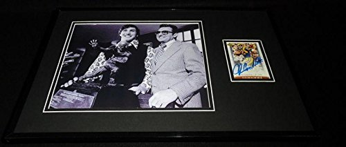 John Cappelletti Signed Framed 11x17 Photo Pageantry Penn State w/ Joe Paterno PSU - Autographed College Photos