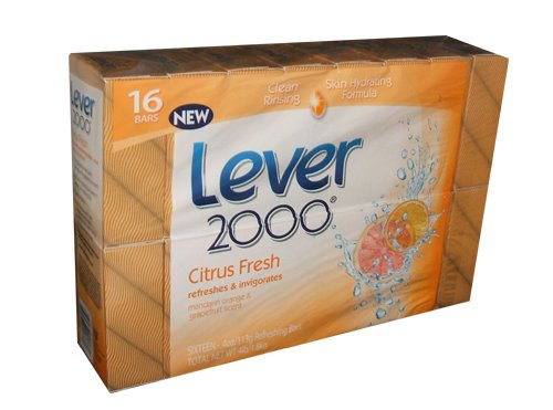 Lever 2000 Citrus Fresh 16 Bars