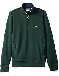 Men's Long Sleeve Semi Fancy Front Zip Sweatshirt