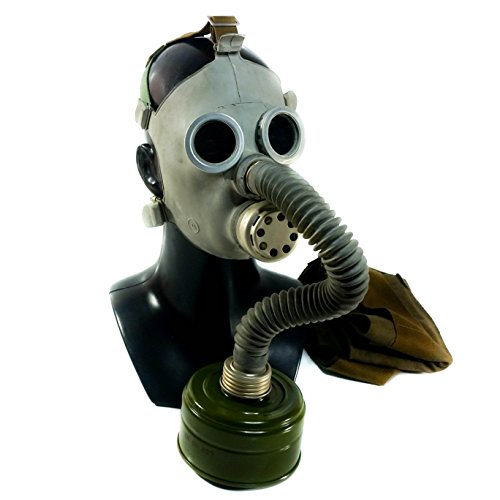 Genuine Original Soviet Russian Child Toddler Gas Mask PDF-7 with hose USSR face mask Respirator Novelty use deco (Medium) -