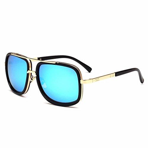 Axiba Sol Gafas de Regalos de G creativos Los Sapo Gafas Moda Gafas Hombres Metal de Sol virola r1TArXq