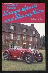 Guide to Vintage Sports and Racing Cars, Harding, Anthony