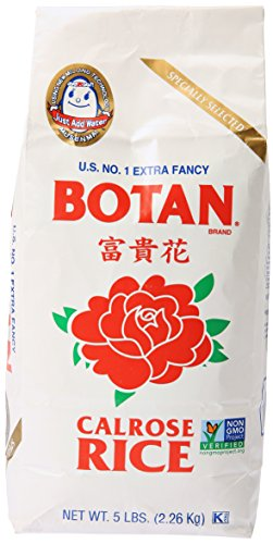 Botan, Calrose Rice, 5 lb