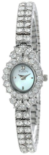 ELGIN Women's EG130S CZ Dress Watch