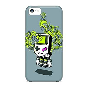 New Arrival for ipod Touch 4 Case Gameboy World Case Cover