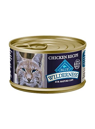 blue buffalo cat food mature - 7