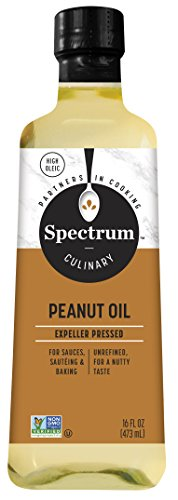 Spectrum Unrefined Peanut Oil, 16 oz by Spectrum