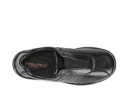 Calzados Robusta Sport O2 Negro, Zoccoli Uomo E Muli Neri