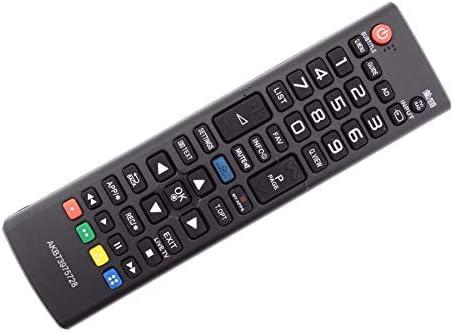 Frompt2y Telecomando di ricambio per televisori LCD TV LG AKB73975728 [Non richiede configurazione o programmazione]