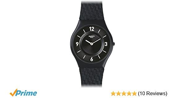 Amazon.com: Swatch Skin Blaumann Blue Dial Nylon Strap Ladies Watch SFN123: Swatch: Watches