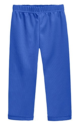 City Threads Athletic Pants For Boys and Girls Sports Camps School Running Basketball Sweat Pants Sweats Perfect For Sensitive Skin or SPD Clothing, Royal, (Celebrity 12 String)