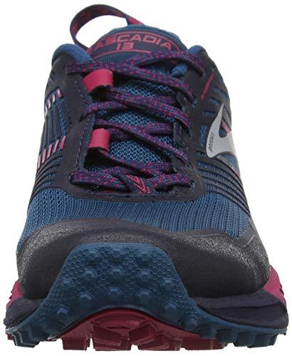 Brooks Cross ink Femme Multicolore Cascadia navy De 449 pink 13 Chaussures O7qxwH7AU