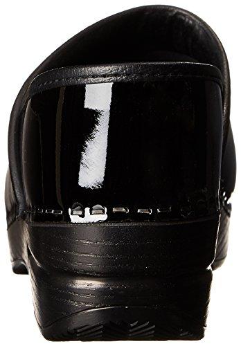 Professional Taglia Black Dansko Zoccoli Pelle Patent qwxU4fSa