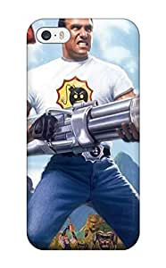 3748970K65717151 Protection Case For Iphone 5/5s / Case Cover For Iphone(serious Sam)