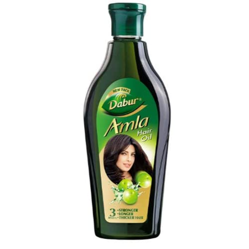 Cheap Dabur Amla Hair Oil for Stronger, Longer, Thicker Hair - 450ml (Pack of 1) for sale