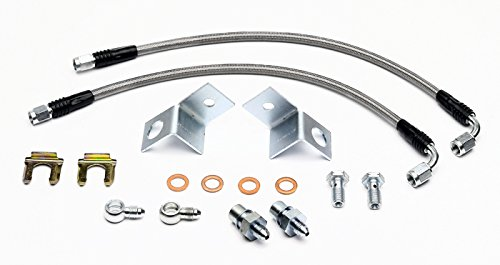 Wilwood Rear Disc Brakes (NEW WILWOOD STEEL BRAIDED REAR BRAKE LINE KIT WITH NECESSARY FITTINGS FOR WILWOOD CALIPERS)