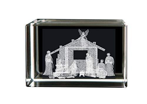 (BIT Crystal Nativity Scene)