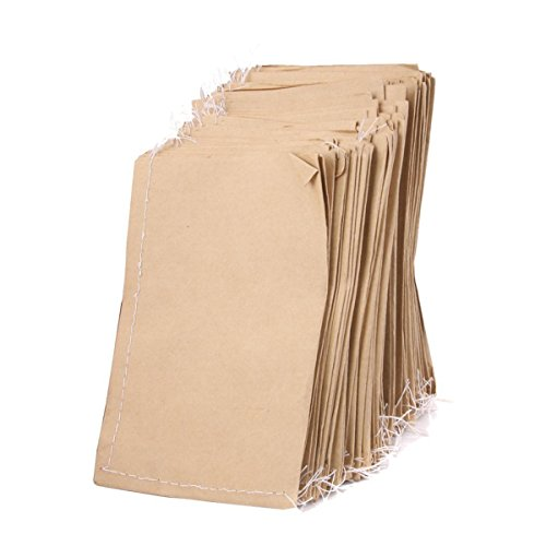 - FENICAL 100pcs Kraft Paper Seed Bags for Food Seed Storage