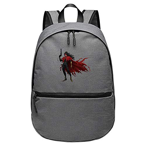 UIJ JJAA Final Fantasy Primary School Students'schoolbags Middle School Students' Backpack Travel Computer Bags for Men and - Flx Eye