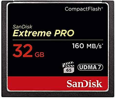SanDisk Extreme Pro 32 GB SDCFXPS-032G-X46 Extreme Pro 160MB/s CompactFlash Card
