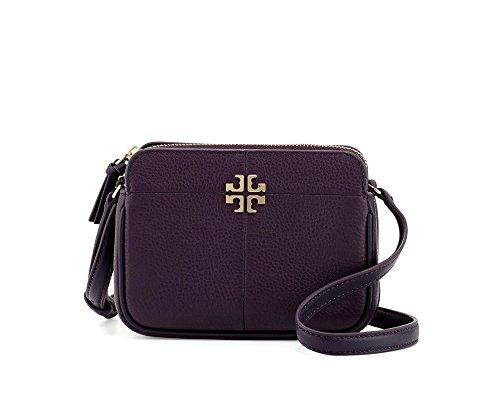 Tory Burch Ivy Leather Micro Crossbody - Tory Bag Purple Burch