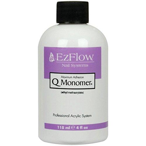 EZ Flow Q Monomer False Nails, 4 Fluid - Powder Acrylic Ezflow