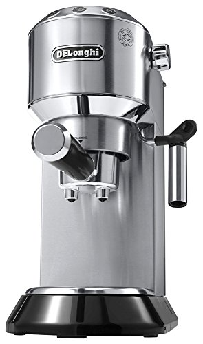 "DeLonghi ""DEDICA"" Espresso Cappuccino Maker EC680M (METAL SILVER)【Japan Domestic genuine products】"