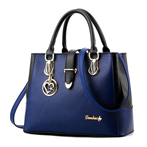 Tote Messenger Top Dark Handle Female Bag Blue Crossbody Rose Red 32x13x23cm PEqwIxxdR