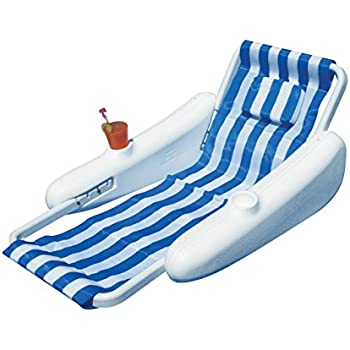 Amazon Com Swimline Sunchaser Padded Floating Lounger