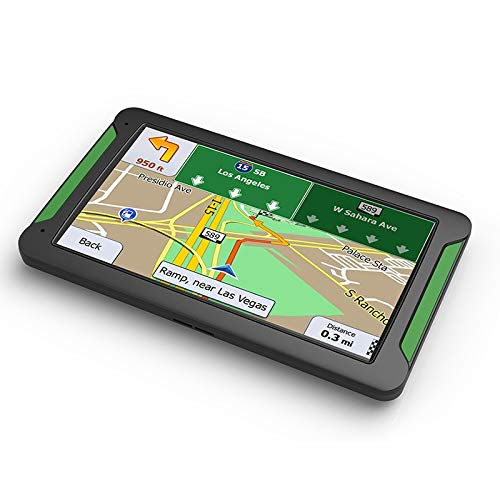Globalflashdeal Car GPS Navigator 7 Pollici HD Premere Screen 8Gb Memoria Integrata 256MB Memoria di Guida Guida Navigazione Mappa dellEuropa