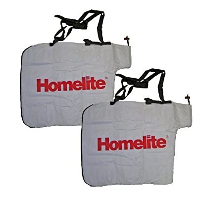 Homelite UT-08550 Blower (2 Pack) Replacement Leaf Bag # 900960004-2pk by Ryobi
