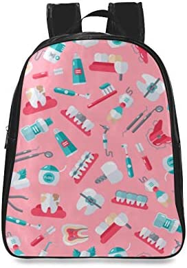 Cute Electric Automatic Toothbrush Women Daypack Hike Daypack Woman School Bag Print Zipper Students Unisex Adult Teens Gift