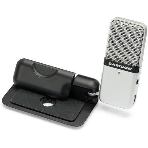 Samson Microphone à pince USB Go Mic pour ordinateur portable