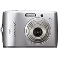 Nikon Coolpix L15 8MP Digital Camera with 3x Optical Vibration Reduction Zoom (Silver) (OLD MODEL)